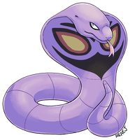 Arbok - Gift Request by VampireSelene13