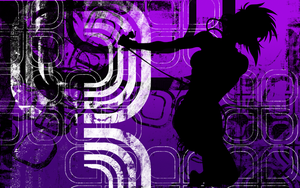 Purple Abstract wallpaper by metagrith