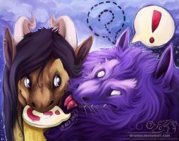 Gift: Navarose and Plaz by Drahiny