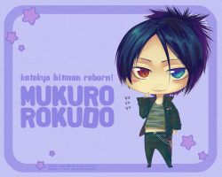 Wallpaper: Chibi Mukuro by Celsa
