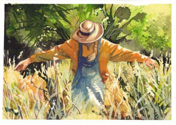 scarecrow by GreenSprite