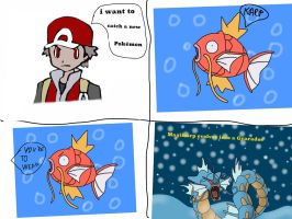 Gyarados comic by jomy10