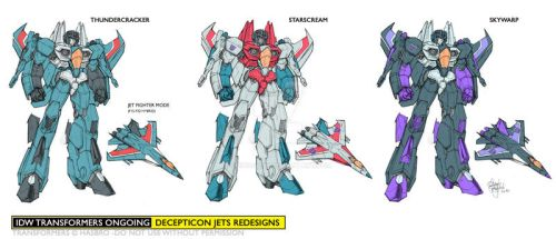 My IDW Seekers 2010 by GuidoGuidi