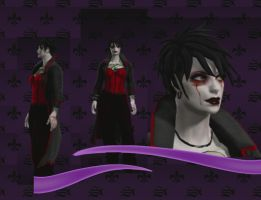 First Saints Row Character by IchorData