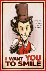 Wilson wants you to... by TFresistance