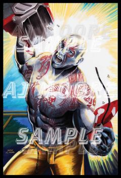 Drax the Destroyer by ArtistAJMoore by GudFit