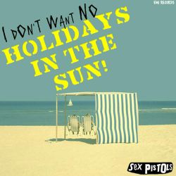 Sex Pistols Holidays In The Sun 45 Record Sleeve by besound410