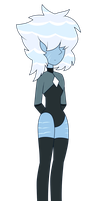 -Close- Blue Lace Agate - Gemsona Adoptable - by GistMellow