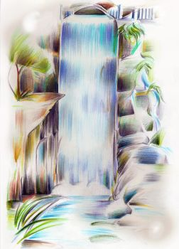 Waterfall Collor by AlineMendes
