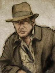 Indiana Jones by GrafikInvaders