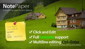 Note Paper 1.1 by sa3er