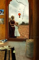 See you soon, daddy... by Tegori