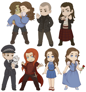 Chibi Robert Army Part 2 by AngelQueen13