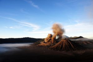 Bromo Vulcano, Java, Indonesia. by Eliansito