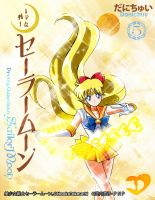 Sailor Venus Perfect Edition Anime Style by Danichuy