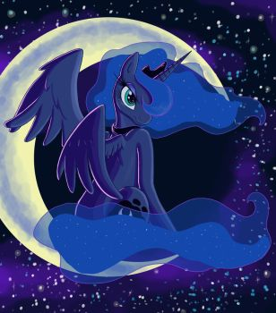 Lovely Luna by kcday