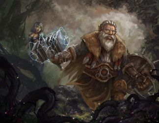 Brave Dwarf by Kaionluong