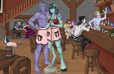 The Tavern by xella