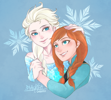 Frozen by blackteakimi