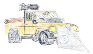 Armoured Jeep by CCB-18