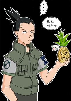 Pineapple Boy by angie-michelle
