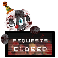 Ennard Requests CLOSED Stamp by InkCartoon