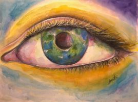The Eye of the Earth by Sara-Arasteh