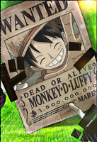 One Piece Chapter 903 Luffy New Bountie Yonko by Amanomoon