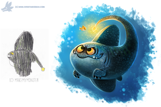 Daily Paint #1102. #MakeMyMonster by Cryptid-Creations