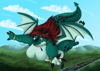Charlotte Skyway by PudgeyRedFox