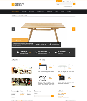 Simple Corporate Webdesign Furniture v1 by kqubekq