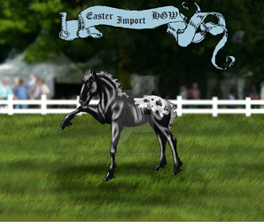 EasterImport Wittenberger for DiamondHorses DRAWN by LiaLithiumTM