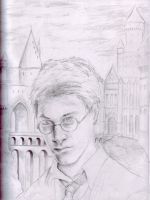 Harry Potter rough draft by Mimitchki