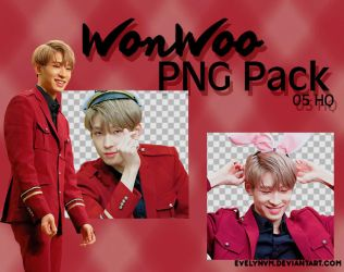 Wonwoo PNG Pack by evelynvm