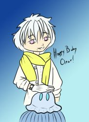 Happy Birthday, Clear! by stefi-tails