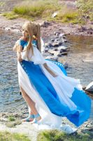 Belldandy commission - 2 by lady-narven