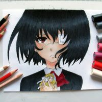 Another - Misaki Mei by annikas-drawings