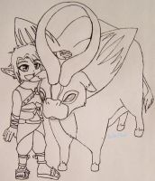 A Boy and His Goat by HeroOfTime18