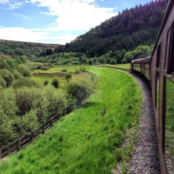 North Yorkshire Steam Train by day-seriani