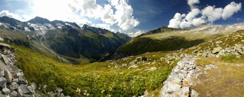 Zillertal Panorama by Roman89