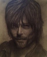 Norman Reedus aka Daryl Dixon - The Walking Dead by BladaMerry