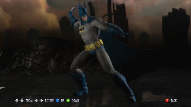 Injustice: Gods Among Us - 1970s Batman (Classic) by CapLagRobin