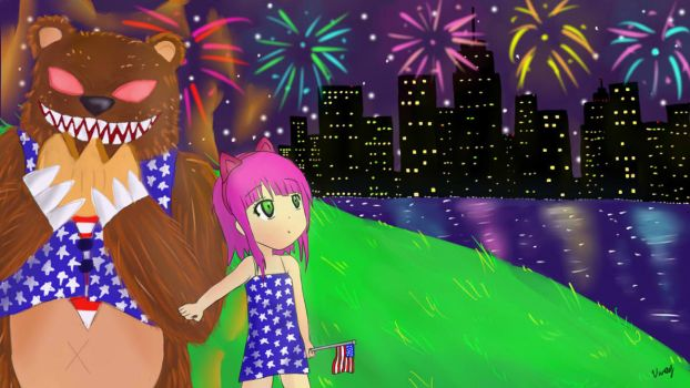Independence Day Art Contest by BlueCrew