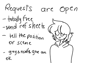 REQUESTS ARE OPEN (PLS READ DESC) by CuppynelleFlamingo