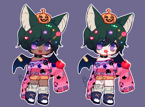 Fruitbat Parfumimi Halloween raffle closed by BabyPippo