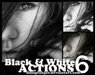 Black and White Actions by danigranger