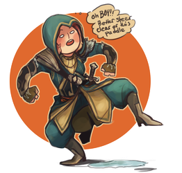 Quality Assassin by Yaushie