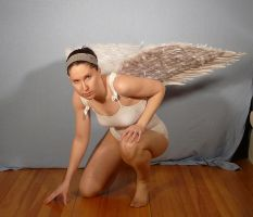 Sailor Angel Crouching by SenshiStock