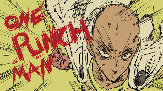 Saitama - One Punch Man by Garcho