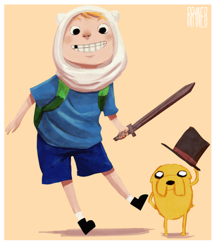 Adventure Time by RaynerAlencar